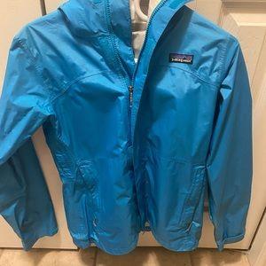 Patagonia H2no Blue Rain Jacket